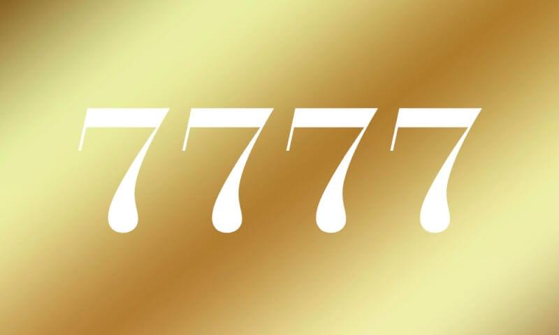 7777 エンジェル ナンバー
