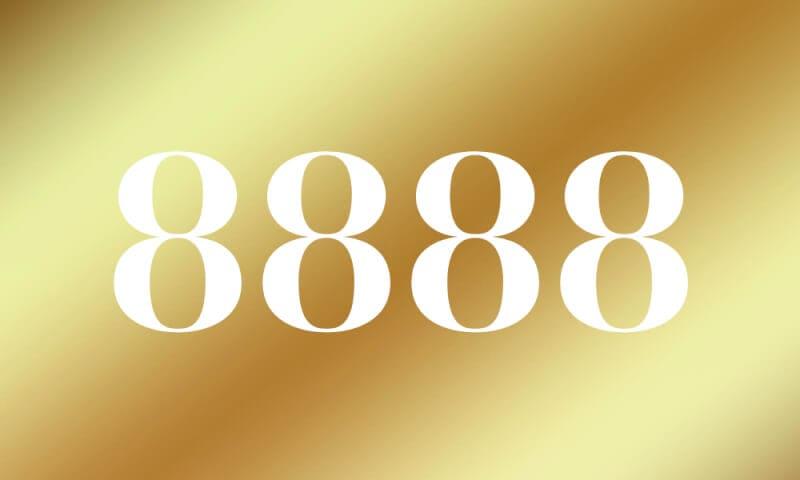 【8888】のエンジェルナンバーの意味は『経済的成功はあなたのものです。迷わず進み続けてください』