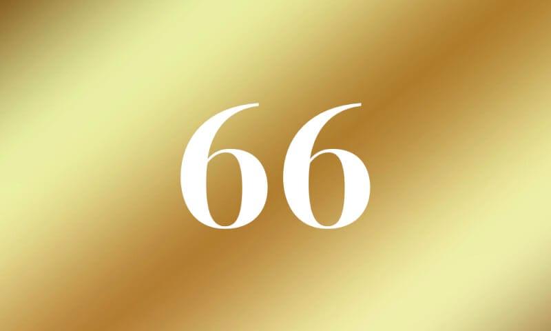 66】のエンジェルナンバーの意味...