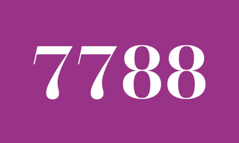 7788】のエンジェルナンバーの意味・恋愛 『あなたの行動に様々