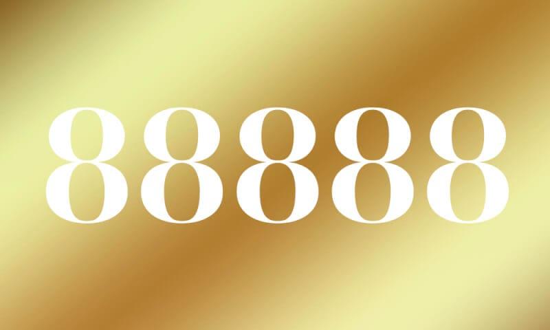 88888】のエンジェルナンバーの...